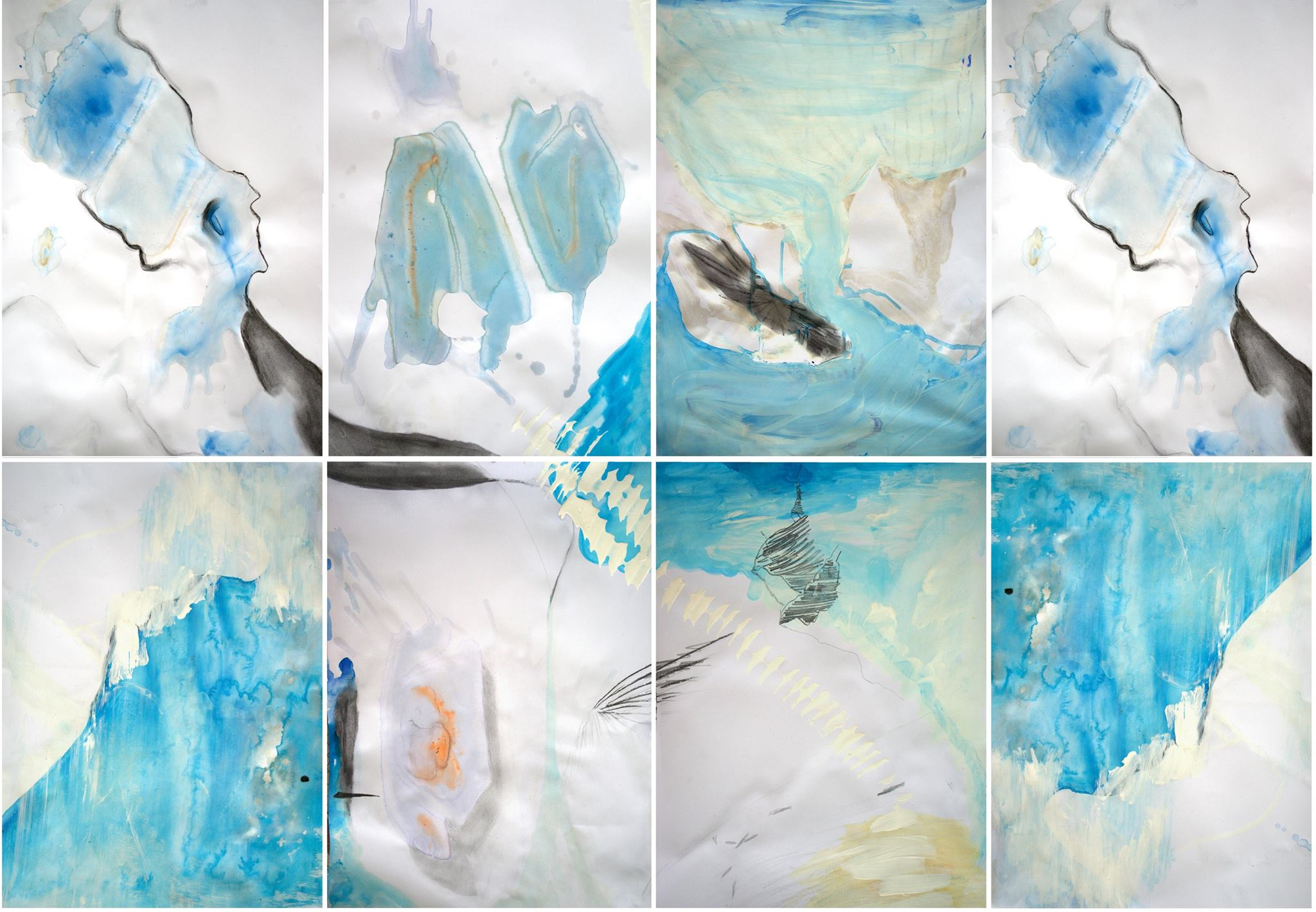 Aquarelle series: I drink life