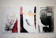 Unspoken words - triptych